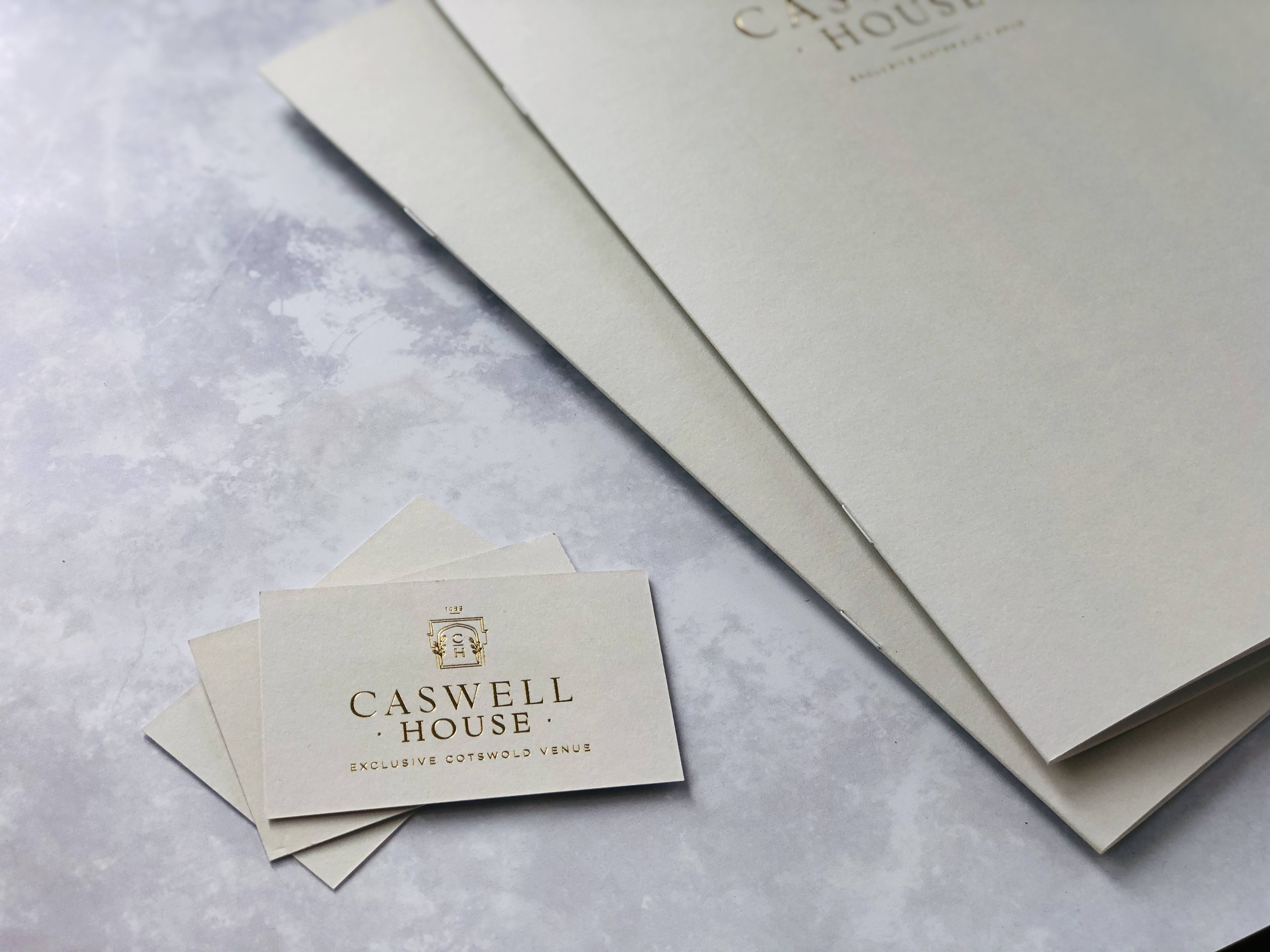 Caswell House Business Card